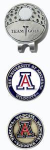 Arizona Wildcats Golf Hat Clip