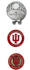Indiana Hoosiers Golf Hat Clip