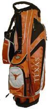 Texas Longhorns Gridiron College Golf Stand Bag