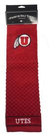 Utah Utes Embroidered Golf Towel