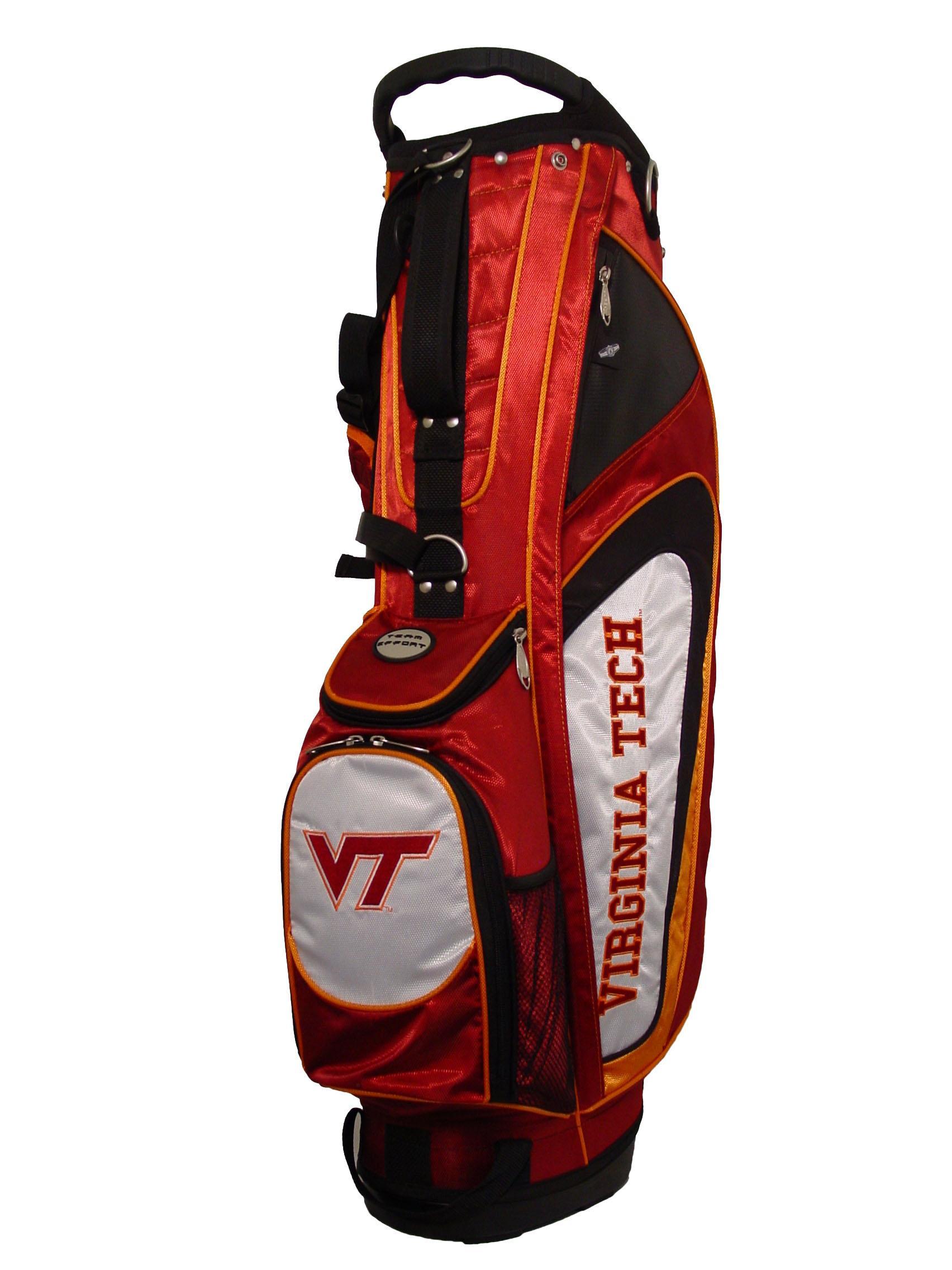 bf58a6e2c27881 Virginia Tech Hokies Gridiron College Golf Stand Bag